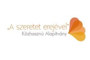 """""""A szeretet erejével"""" Közhasznú Alapítvány logó"""